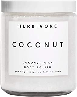 Herbivore - Natural Coconut Milk Body Polish | Truly Natural, Clean Beauty (8 oz | 226 g)
