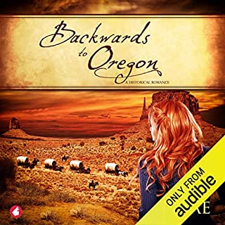 Backwards to Oregon audiobook cover art