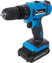 Silverline 946680 Taladro percutor combinado, 0 V, Azul, 18 V