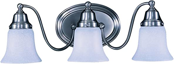product image for Framburg 8413 SP 3-Light Magnolia Sconce, Satin Pewter