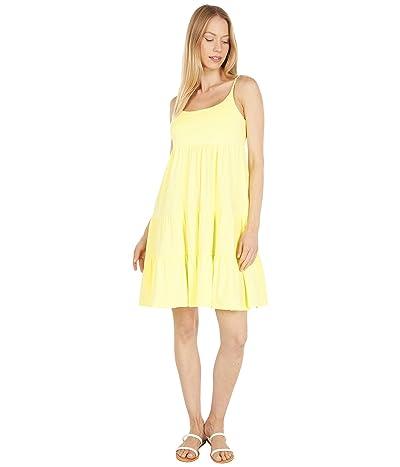 bobi Los Angeles Supreme Jersey Tiered Cami Dress