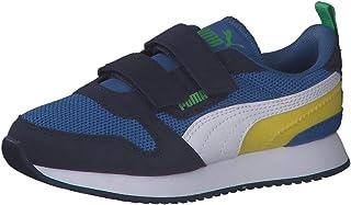 Puma Unisex Kid's R78 V PS Sneaker, Star Sapphire White-Peacoat