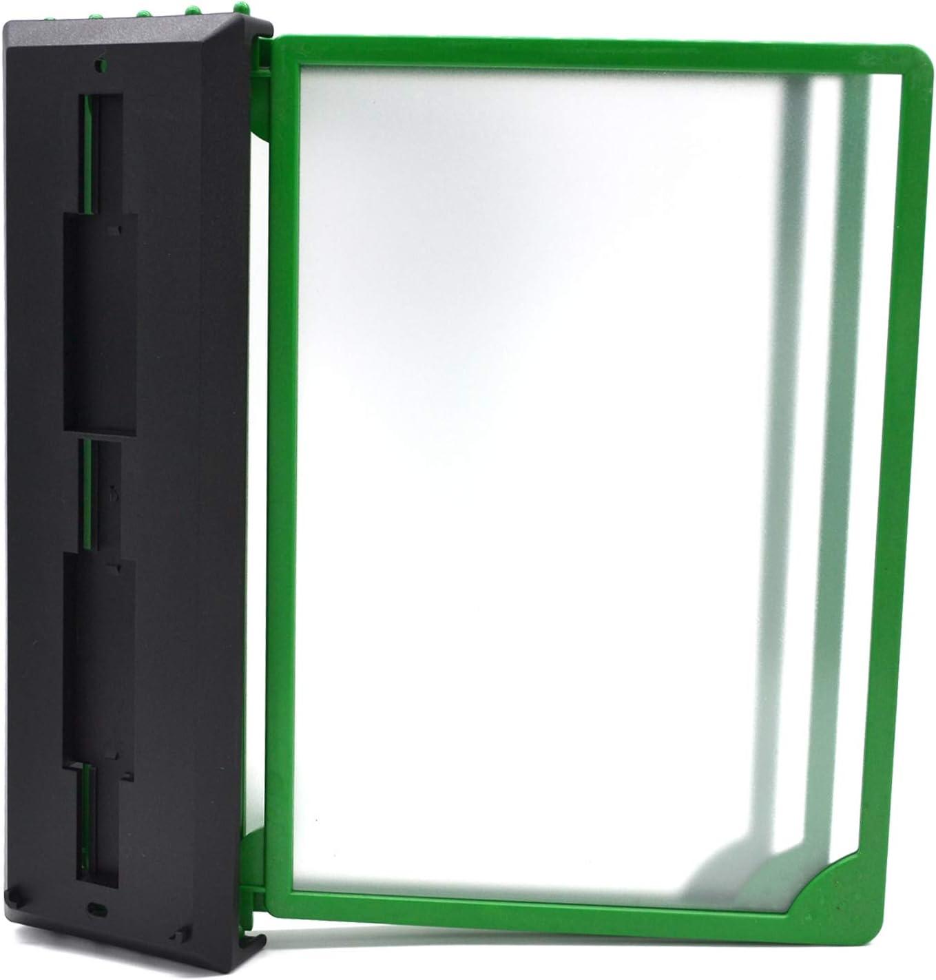 Sichttafelsystem A4 Kassenst/änder Wandmontage 5 oder 10 Rahmen versch Farben
