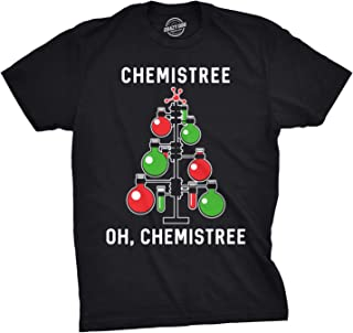Mens Chemistree Tshirt Funny Chemistry Science Christmas Tee for Guys