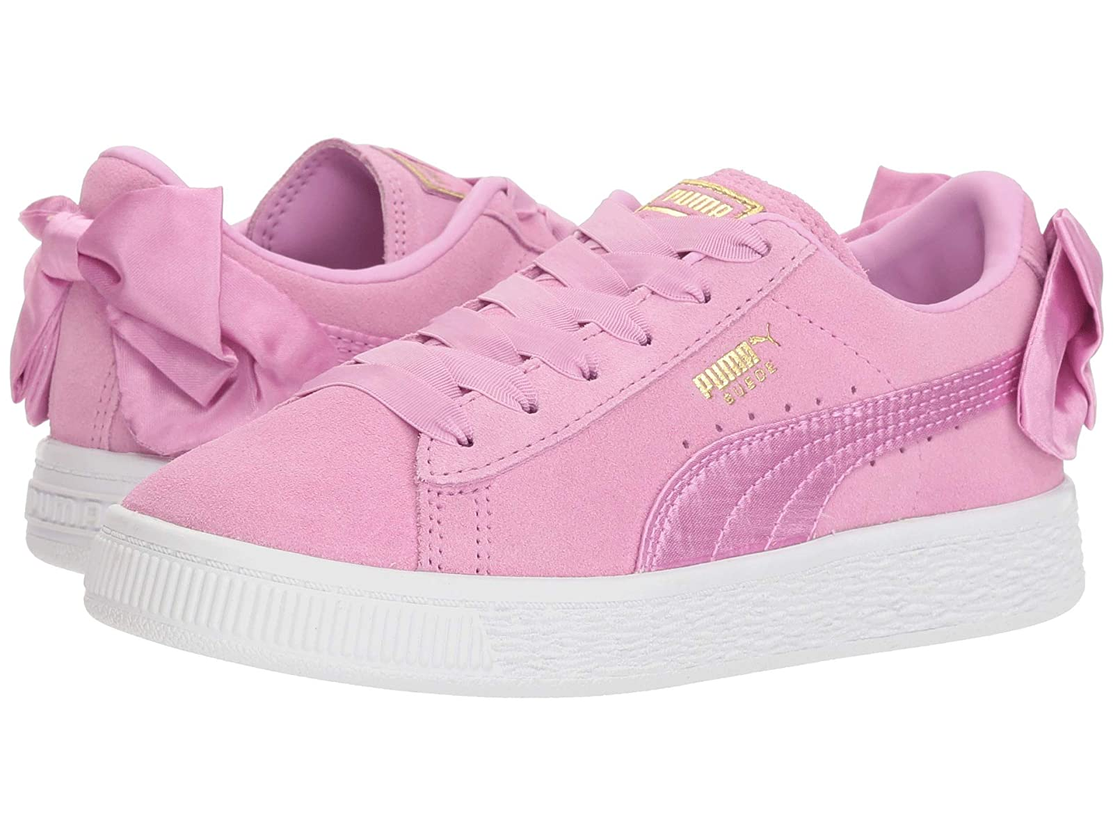 Puma Kids Suede Bow AC (Little Kid/Big Kid)Atmospheric grades have affordable shoes