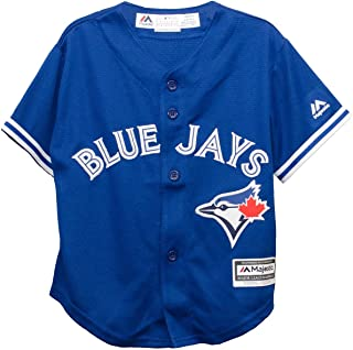 Blue Toronto Blue Jays Majestic MLB AC Cool Base Replica Jersey