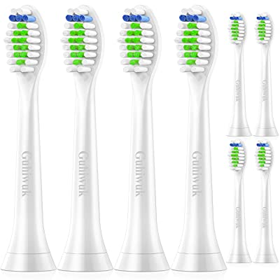 Guhiwuk Toothbrush Brush Heads Replacement for ...