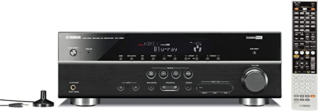 Yamaha RX-V667 7.2-Channel Home Theater Receiver (OLD VERSION) (Discontinued by Manufacturer) (Renewed)