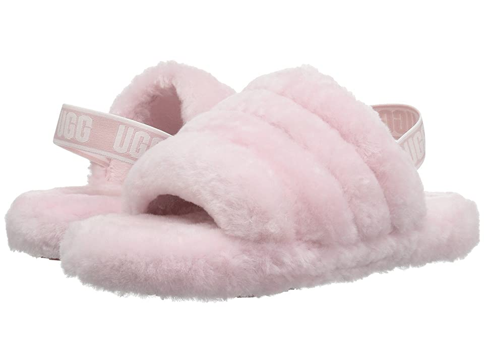 UGG Kids Fluff Yeah Slide (Little Kid/Big Kid) (Seashell Pink) Girls Shoes