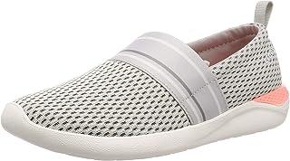 حذاء رياضي نسائي بدون رباط شبكي خفيف من كروكس