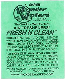 Wonder Wafers 25 CT Individually Wrapped Fresh & Clean Air Fresheners