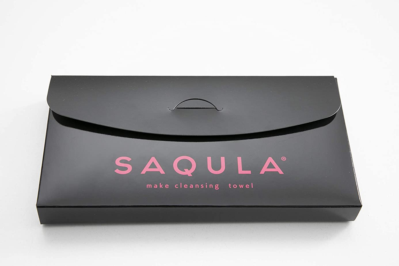 私たち時計回りトンSAQULA クレンジングタオル ピンク テレビで紹介された 水に濡らして拭くだけで簡単にメイクが落とせるクレンジングタオル