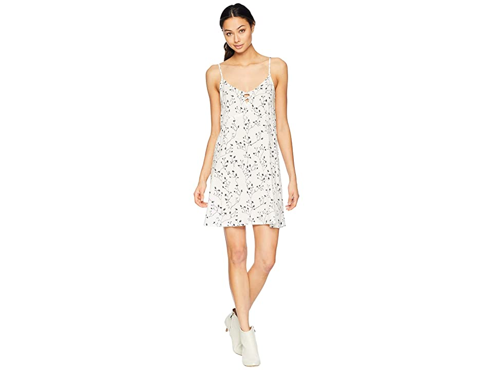 Roxy Full Bloom Print Dress (Marshmallow From the Wildness) Women