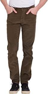 bossini Gracious New Year Mens Slim Fit Solid Corduroy Pants 28-38