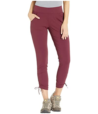 Columbia Anytime Casualtm Ankle Pants (Deep Madeira) Women