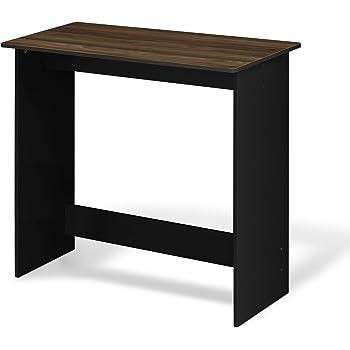 FURINNO Simplistic Study Table, Columbia Walnut