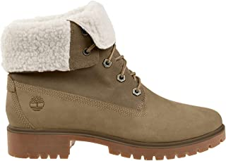 Women's Jayne Waterproof Teddy Fleece Fold Down Fashion Boot