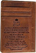 Personalized Minimalist Wallet Engraved Slim Card Holder for Men Dad Son Husband Boyfriend Grandpa Custom Gifts Cards Case