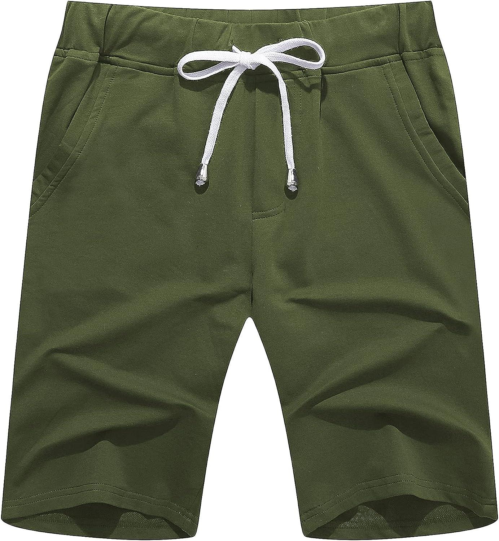All items free shipping Janmid Men's Casual Shorts Elastic Gym Shor Pocket Active Jogger Max 50% OFF
