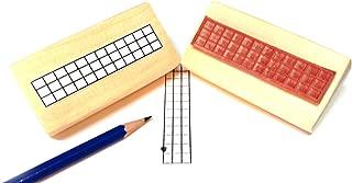 Ukulele, Bass & Mandolin Fretboard Rubber Stamp (Uke Ukelele)