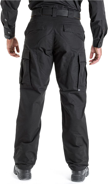 5.11 Tactical Ripstop TDU 74003 Adjustable Lightweight Work Trousers Black