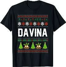 DAVINA Christmas Family Ugly Christmas T-Shirt