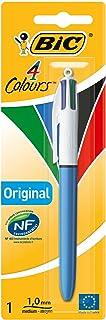 comprar comparacion BIC 4 colores Original bolígrafos Retráctiles punta media (1,0 mm) - Blíster de 1 Unidad