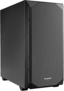 ¡Silencio! Pure Base 500 Mid Tower - Carcasa para Juegos (USB 3.0), Color Negro Negro
