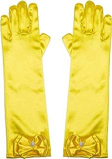 Best yellow satin gloves child Reviews