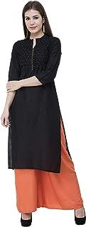 Women's Rayon Straight Kurta Designer Indian Kurti Tunic Top