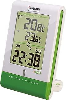 Oregon Scientific RMR331ESA Eco Solar Clock with Temperature