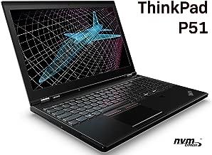 Lenovo ThinkPad P51 Mobile Workstation - Intel Quad-Core i7-7700HQ, 32GB DDR4 RAM, 512GB PCIe NVMe SSD, 15.6