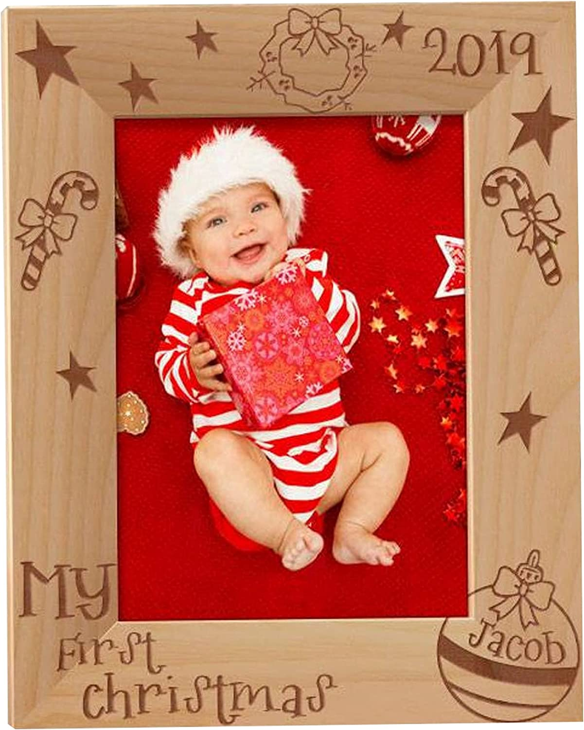 Babies First Christmas Same day shipping Photo My Frame Popular product Personal
