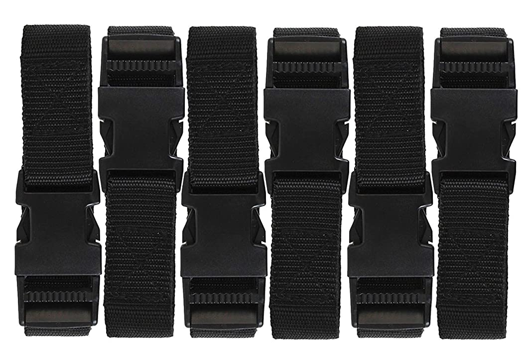 36 48 /& 60 inch Options New 24 Coghlans Arno Straps with Buckles