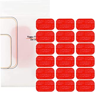 Top-Touch 互換ジェルシート EMS 高品質互換 高電導 ジェルシート 切れ目入りで貼りやすい!日本製ジェル採用 EMS 交換パッド 各サイズ 腹筋 腹筋ベルト 腕 脚 ウエスト トレーニング 互換品
