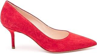 LIU JO Women's SXX515P002191656 Red Leather Heels
