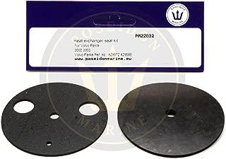 Poseidon Marine Heat Exchanger Seal kit for Volvo Penta 2002 2003 829972 829989