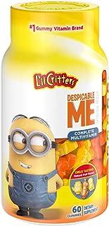 L'il Critters Despicable Me Minion Made Complete Multivitamin Gummies, 60ct