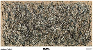 One Number 31 by Jackson Pollock Abstract Contemporary Lines Print Poster 68x39