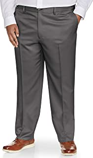 Amazon Essentials Men's Big & Tall Classic-fit Wrinkle-Resistant Flat-Front Dress Pant fit by DXL