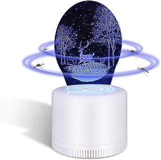 KATELUO insektsförstörare, elektrisk insektsförstörare, UV tyst USB-drift insektsfallslampa Hirsch Weiß