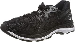 Men's Gel-Nimbus 20 Running Shoe, black/white/carbon , 10...