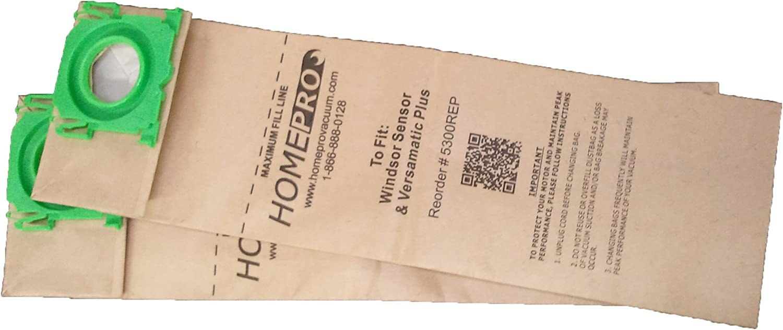 HomePro Vacuum Windsor Sensor Bags Replacement Microfilter List price 5300R lowest price