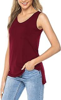 f68c75776ed Amazon.co.uk: Red - Blouses & Shirts / Tops, T-Shirts & Blouses ...