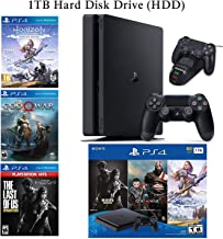 $529 » NexiGo 2020 Playstation 4 PS4 Console Holiday Bundle 1TB HDD + Included 3X Games (The Last of Us, God of War, Horizon Zero...