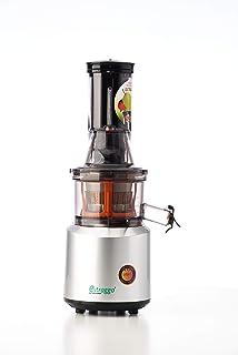 Estraggo LIGHT Extractor de Zumo Familiar de Alto Rendimiento, Extracción en Frío Baja Velocidad 60 rpm, Motor 200 Watt A...