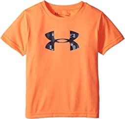 Under Armour Kids - Wordmark Big Logo Short Sleeve Tee (Toddler)