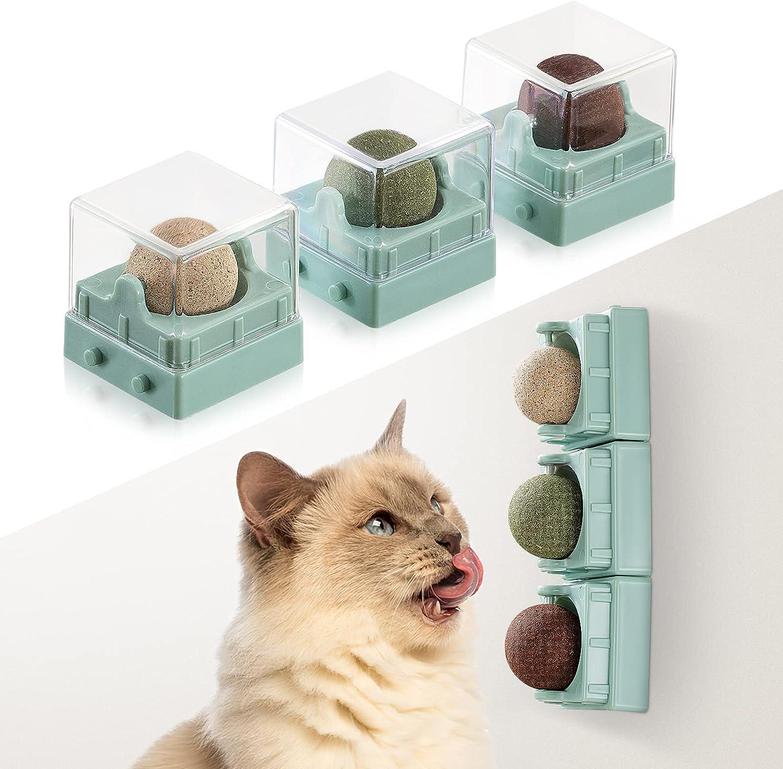 Agelvren Catnip Toys for Cats, Cat Nip Kitten Toys, Edible Healt