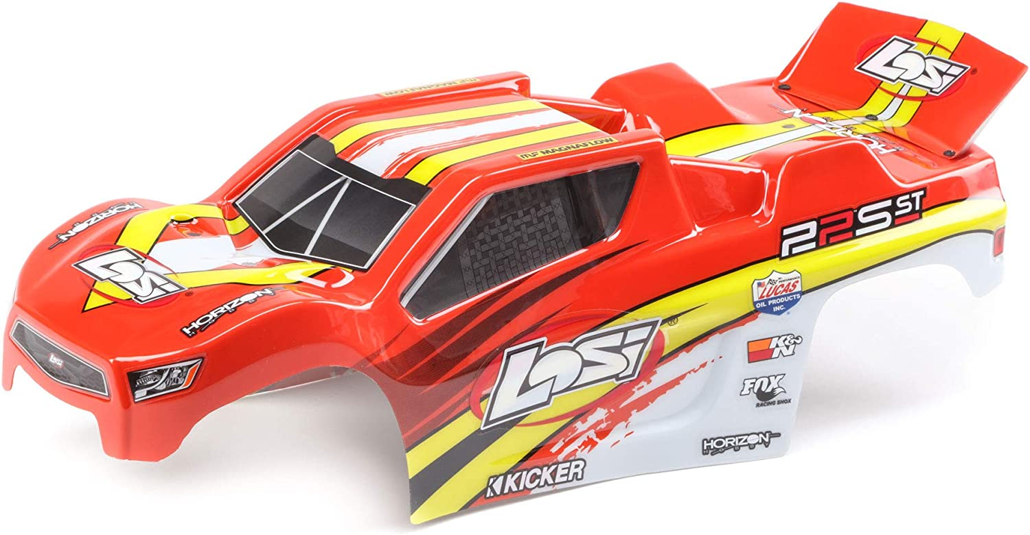 Losi Sale Special Price 1 10 Painted Body Set Red ST LOS230057 Yellow: 22S Gifts