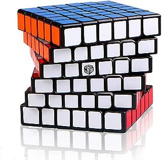 LiangCuber Qiyi Shadow 6x6 Black Speed Cube Qiyi X-Man Design Shadow 6x6 Regular Version Magic Cube